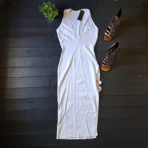 NWT Posh By V White Dress